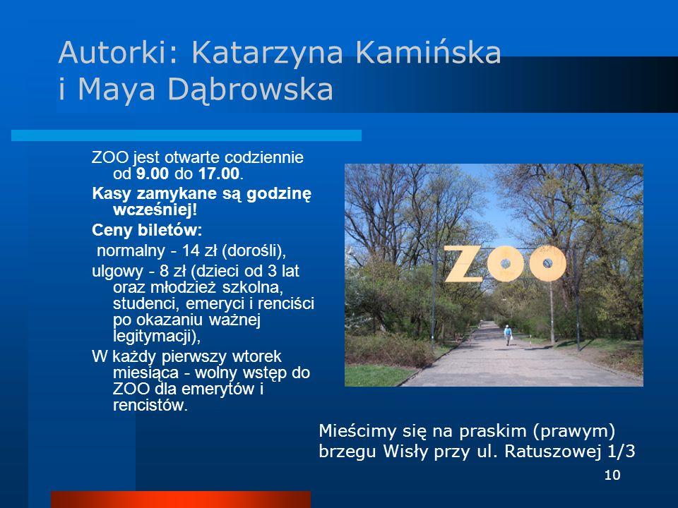 Autorki: Katarzyna Kamińska i Maya Dąbrowska
