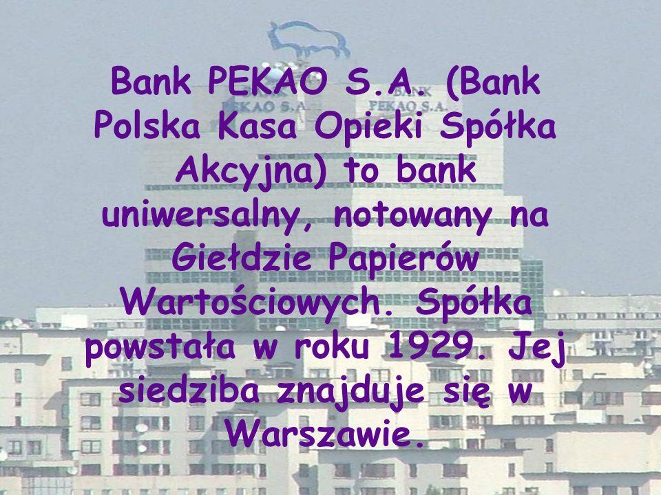 Bank PEKAO S.A.