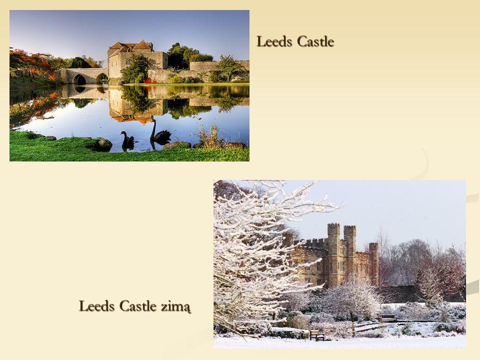 Leeds Castle Leeds Castle zimą