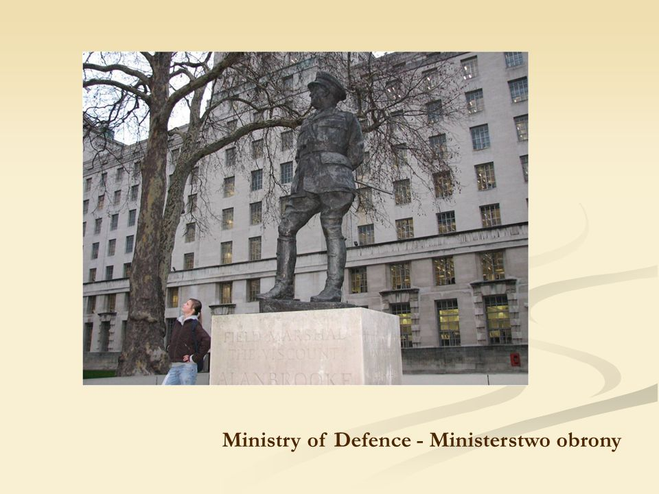 Ministry of Defence - Ministerstwo obrony
