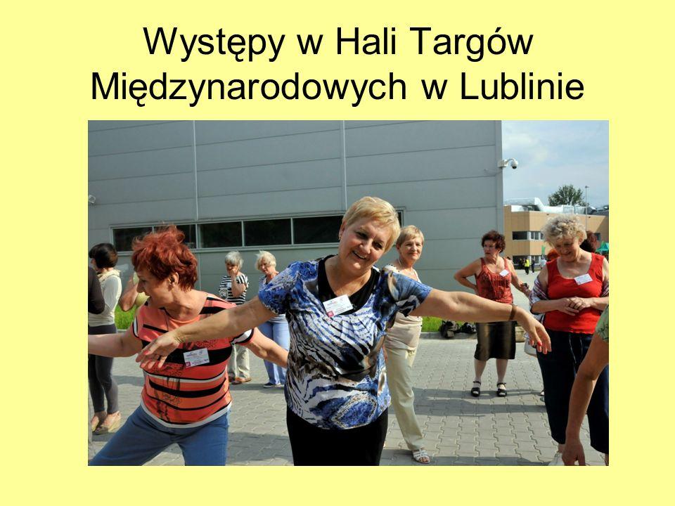Występy w Hali Targów Międzynarodowych w Lublinie