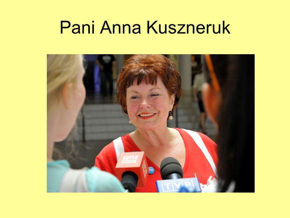 Pani Anna Kuszneruk