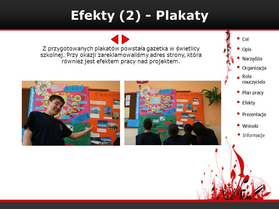 Efekty (2) - Plakaty Cel. Cel.