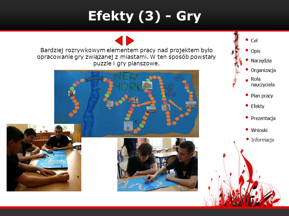 Efekty (3) - Gry Cel. Cel.