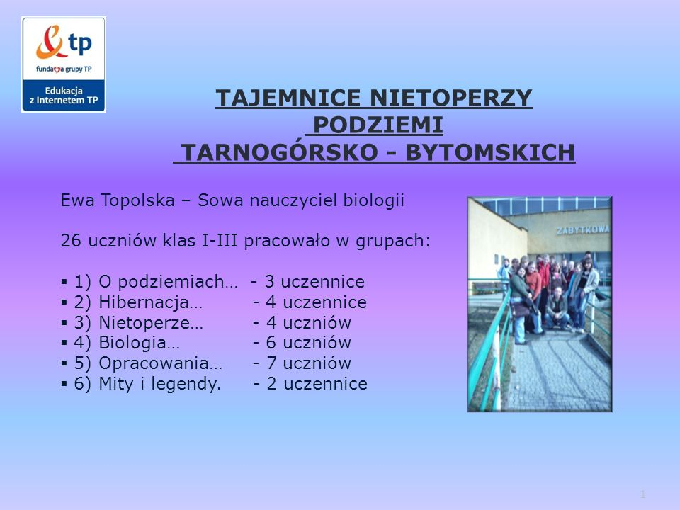 TARNOGÓRSKO - BYTOMSKICH