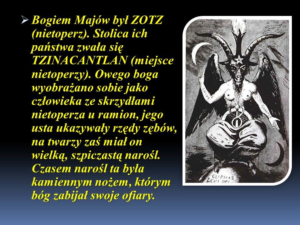 Bogiem Majów był ZOTZ (nietoperz)
