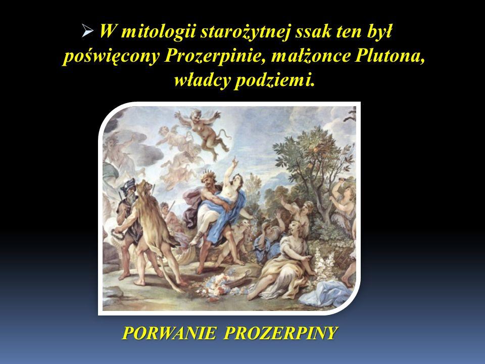 W mitologii starożytnej ssak ten był poświęcony Prozerpinie, małżonce Plutona, władcy podziemi.