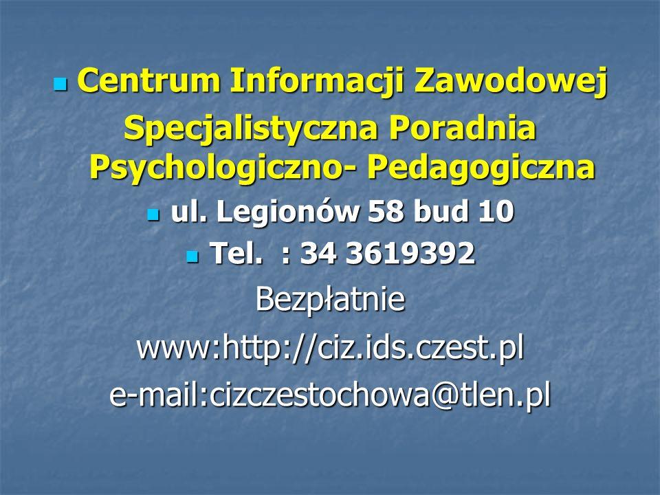 Centrum Informacji Zawodowej
