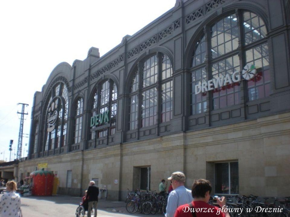 Dworzec główny w Dreznie