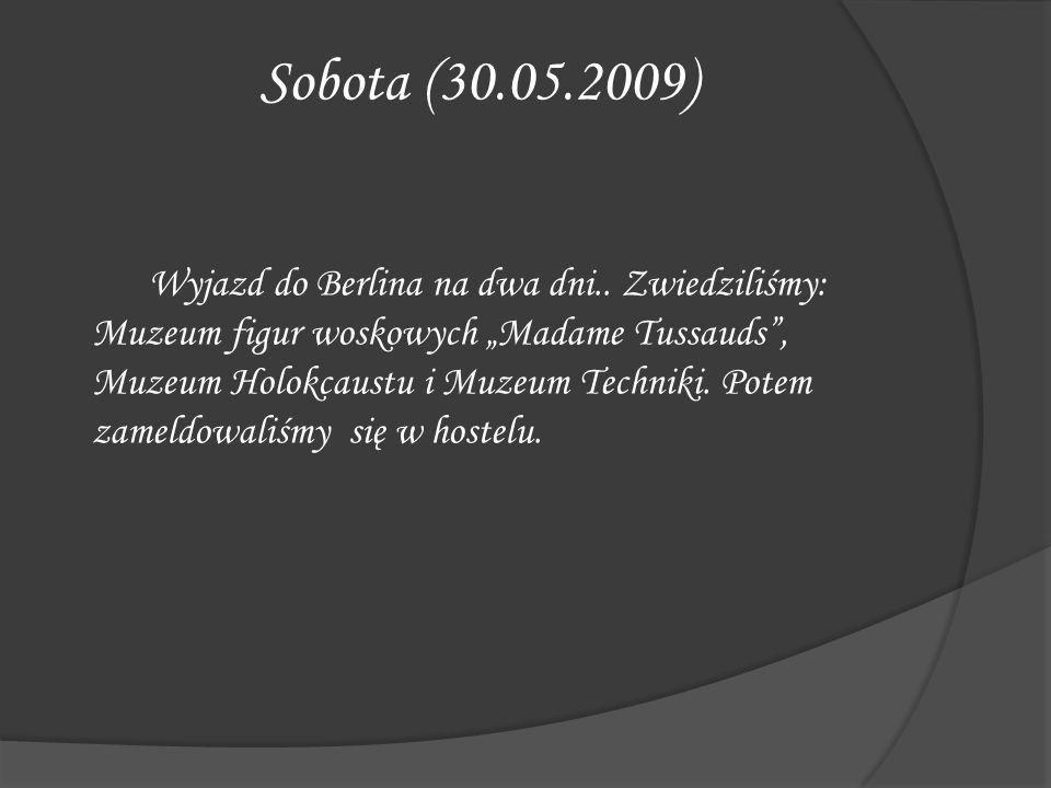 Sobota (30.05.2009)