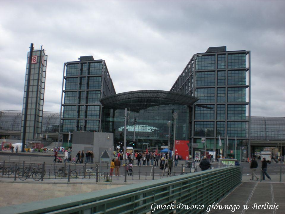 Gmach Dworca głównego w Berlinie