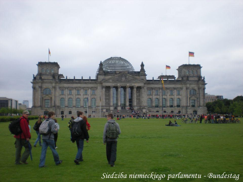 Siedziba niemieckiego parlamentu - Bundestag