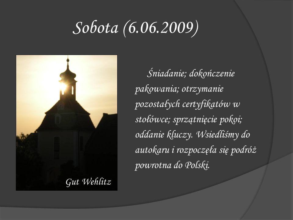 Sobota (6.06.2009)