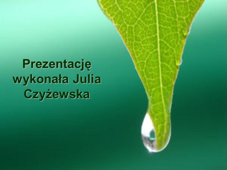 Prezentację wykonała Julia Czyżewska