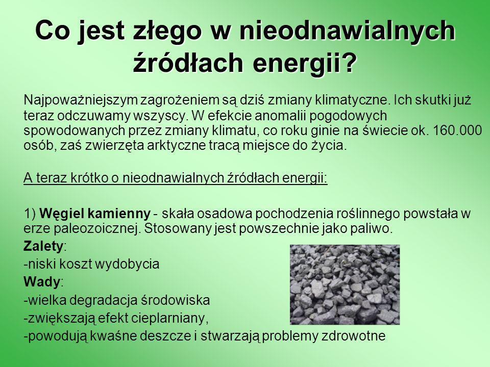 Co jest złego w nieodnawialnych źródłach energii