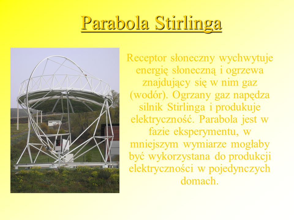 Parabola Stirlinga