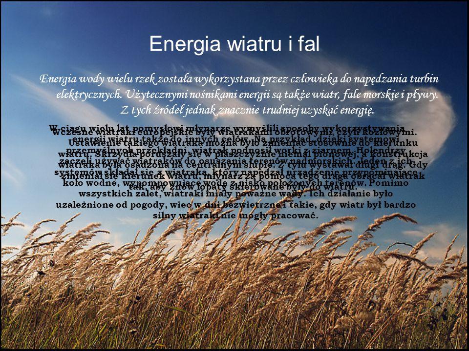 Energia wiatru i fal