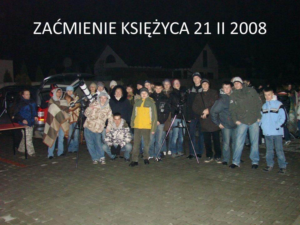 ZAĆMIENIE KSIĘŻYCA 21 II 2008