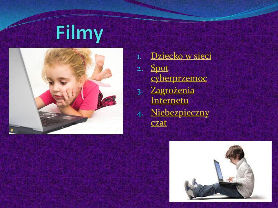 Filmy Dziecko w sieci Spot cyberprzemoc Zagrożenia Internetu
