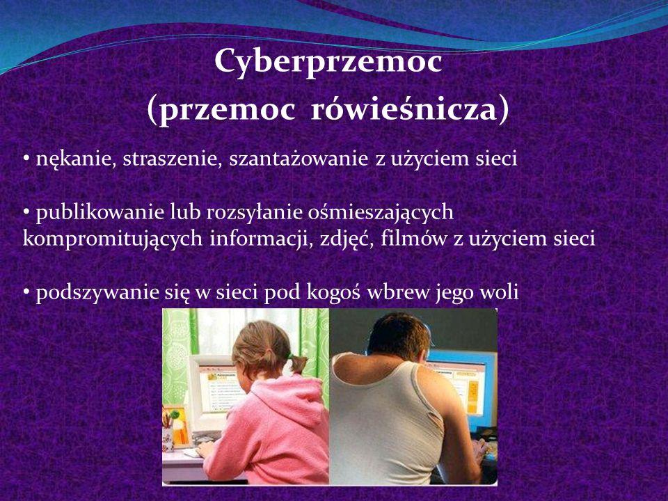 Cyberprzemoc (przemoc rówieśnicza)