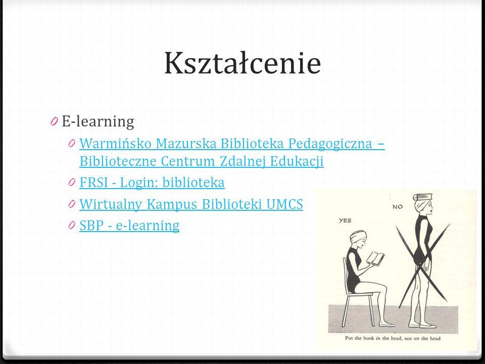 Kształcenie E-learning