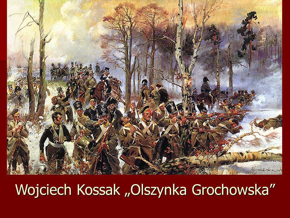 """Wojciech Kossak """"Olszynka Grochowska"""
