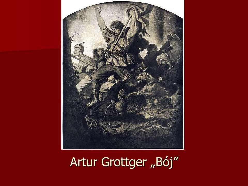 """Artur Grottger """"Bój"""