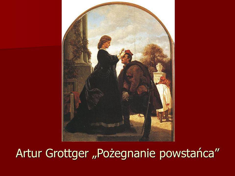 "Artur Grottger ""Pożegnanie powstańca"