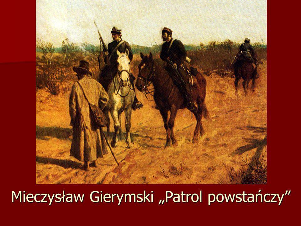 """Mieczysław Gierymski """"Patrol powstańczy"""