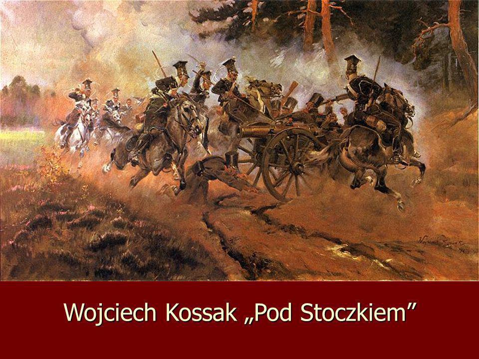 """Wojciech Kossak """"Pod Stoczkiem"""