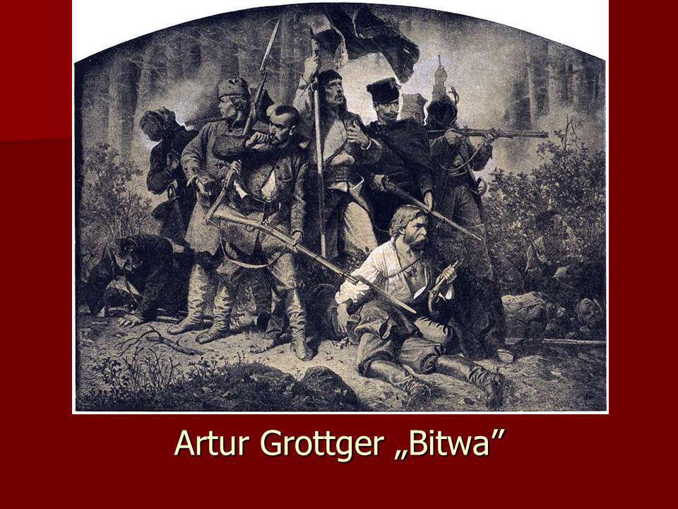 "Artur Grottger ""Bitwa"