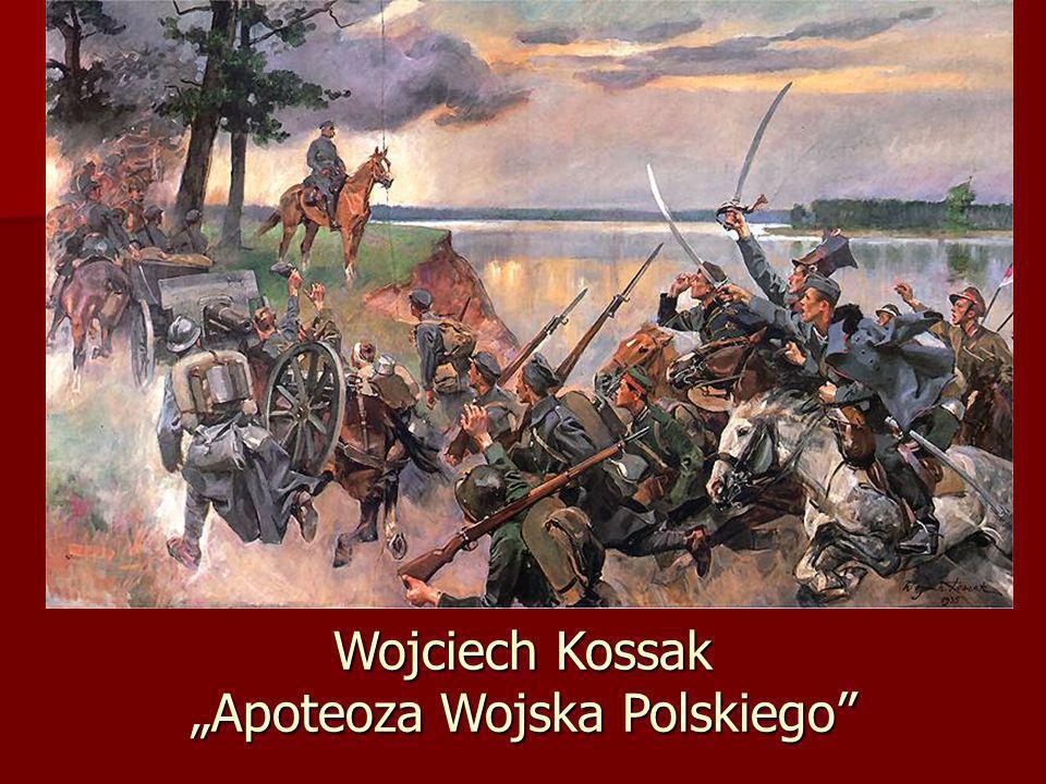 """Wojciech Kossak """"Apoteoza Wojska Polskiego"""