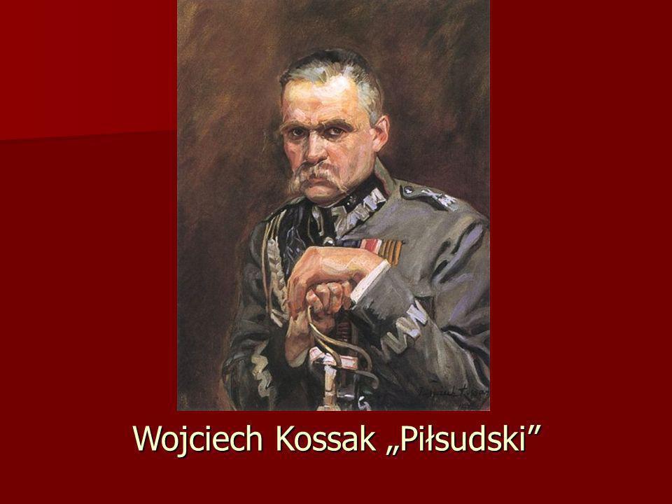 """Wojciech Kossak """"Piłsudski"""