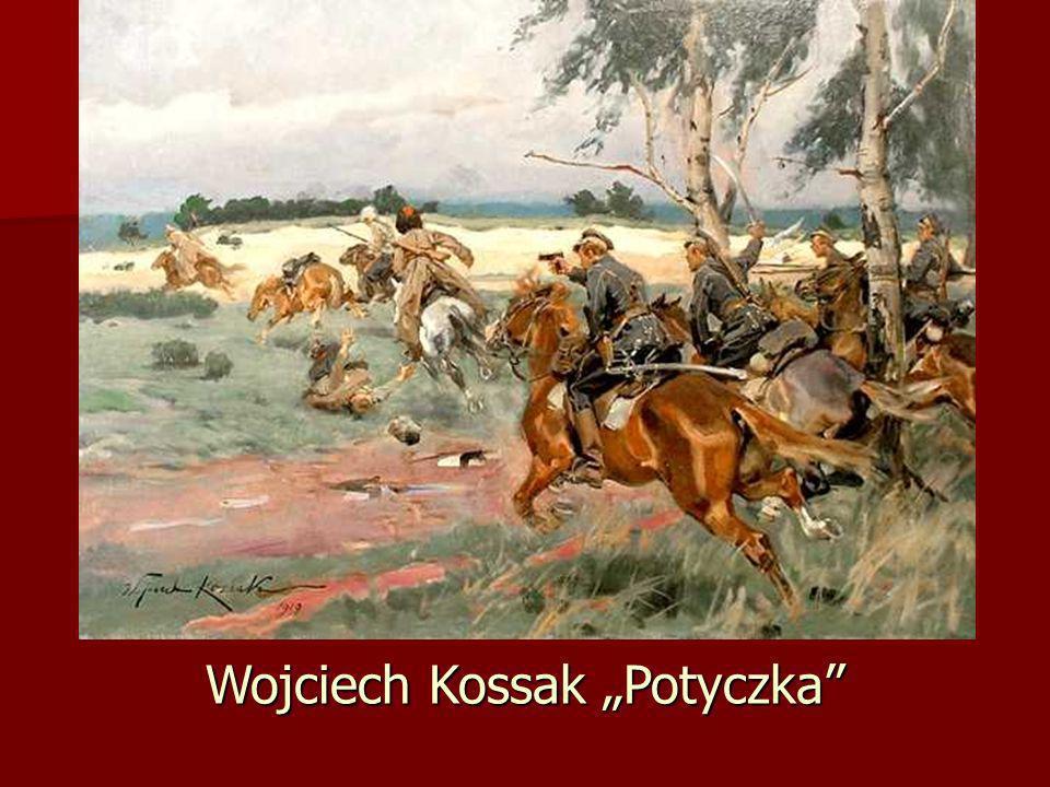 """Wojciech Kossak """"Potyczka"""