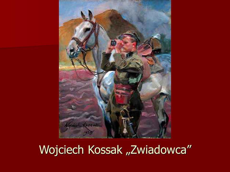 """Wojciech Kossak """"Zwiadowca"""