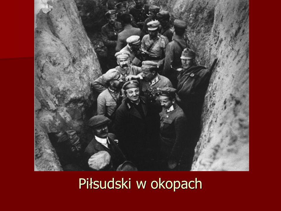 Piłsudski w okopach