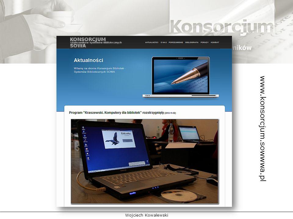 www.konsorcjum.sowwwa.pl informowanie członków Konsorcjum o wszelkich dobrych rozwiązaniach organizacyjnych, wspierających wdrażanie systemu.