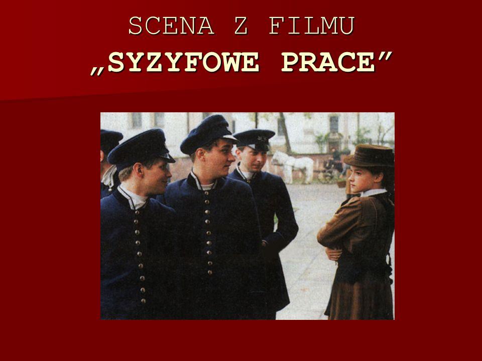 """SCENA Z FILMU """"SYZYFOWE PRACE"""