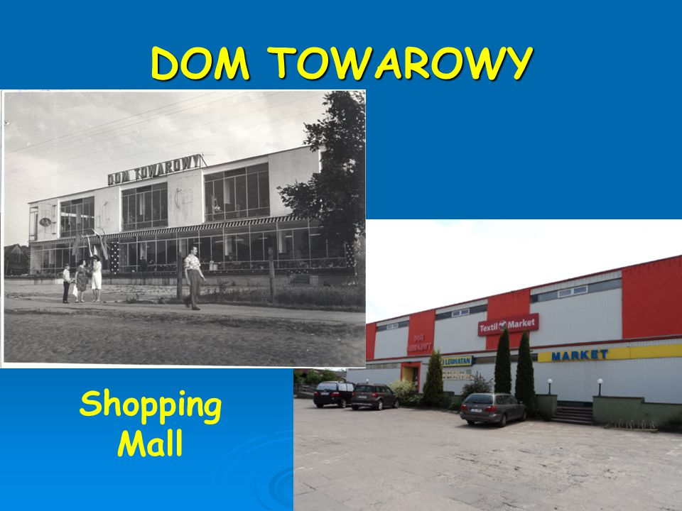 DOM TOWAROWY Shopping Mall