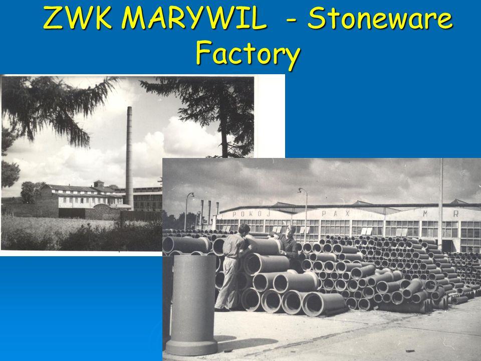 ZWK MARYWIL - Stoneware Factory