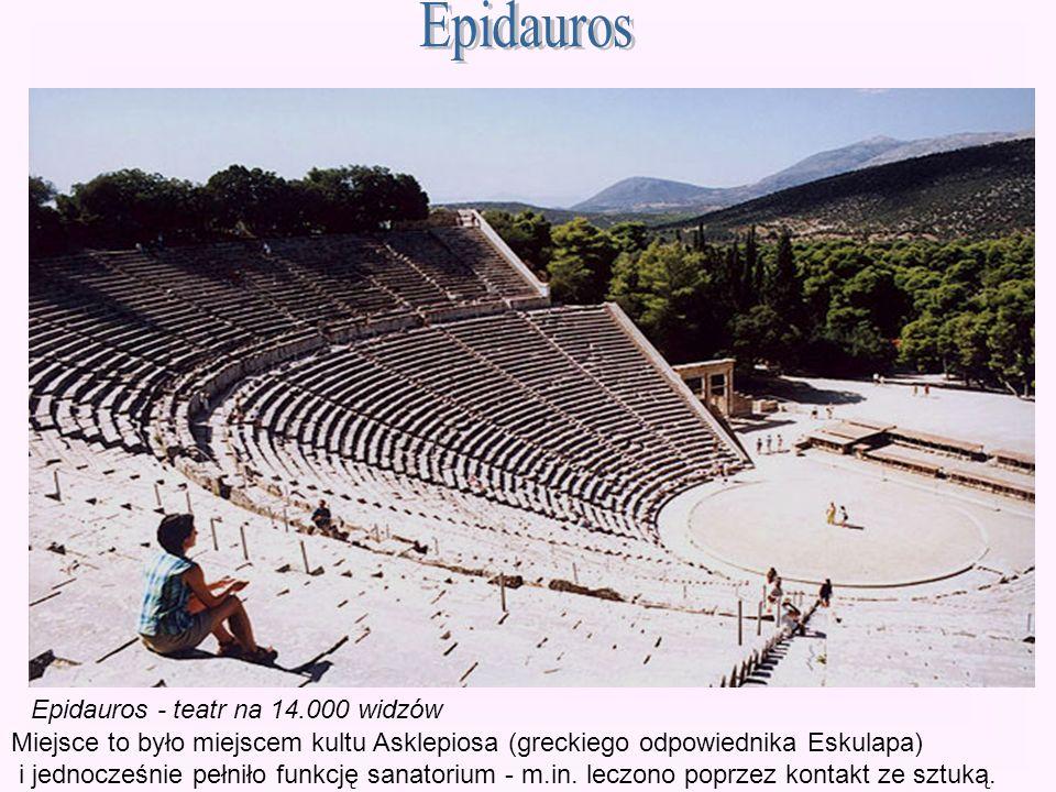 Epidauros Epidauros - teatr na 14.000 widzów