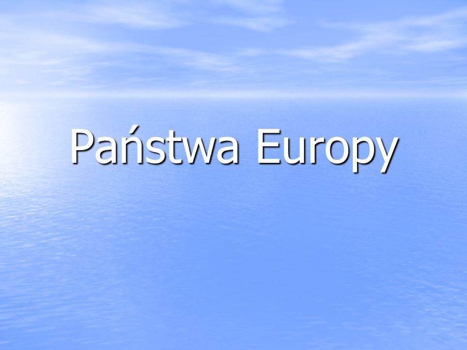 Państwa Europy