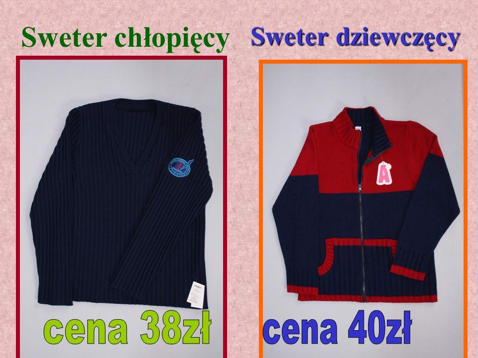 Sweter chłopięcy Sweter dziewczęcy cena 38zł cena 40zł