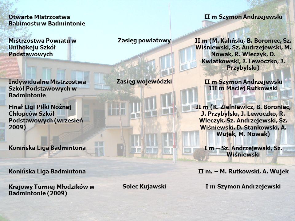 Otwarte Mistrzostwa Babimostu w Badmintonie II m Szymon Andrzejewski