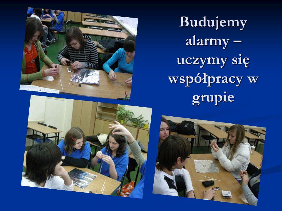 Budujemy alarmy – uczymy się współpracy w grupie