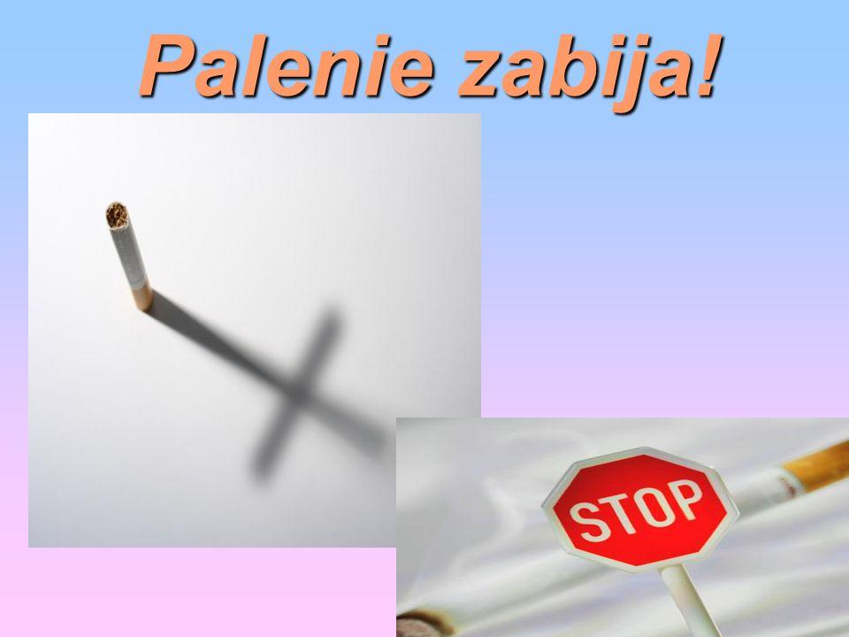 Palenie zabija!
