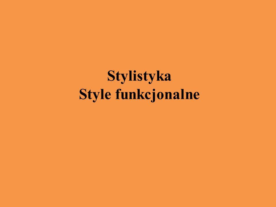 Stylistyka Style funkcjonalne