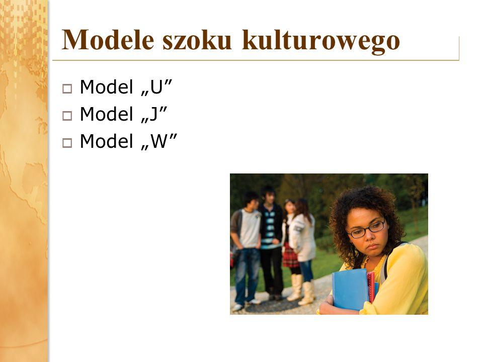 Modele szoku kulturowego