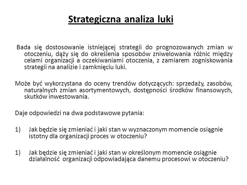 Strategiczna analiza luki