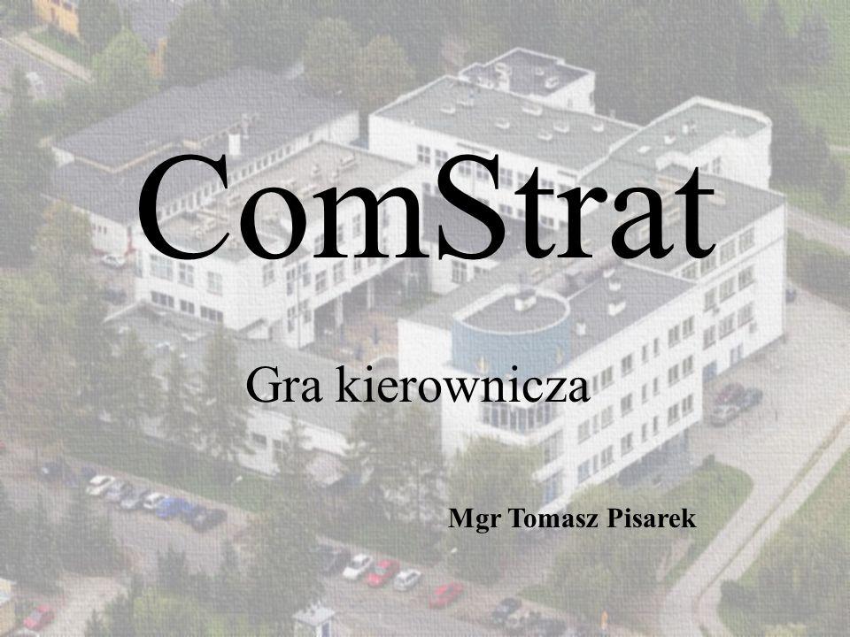 ComStrat Gra kierownicza Mgr Tomasz Pisarek